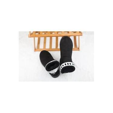 pantufa Fluff macio quente e impermeável antiderrapante adulto homens e mulheres pantufas chinelos sapatos de fundo grosso em casa