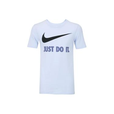 Camiseta Nike New Just Do It - Masculina - ROXO CLARO Nike a82985268ba61