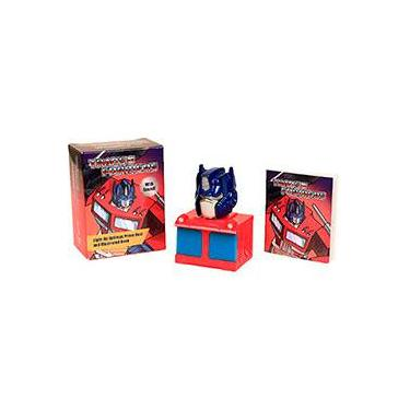 Livro - Transformers: Light-Up Optimus Prime Bust and Illustrated Book