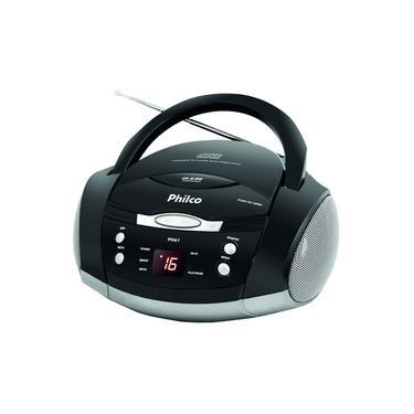 Som Portátil Philco Boombox Ph61 com CD Player Rádio FM