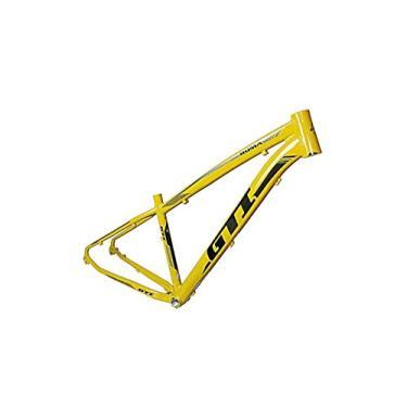 Quadro 19 Bike Mtb Aro 29 Gti Roma Alumínio Disc Amarelo