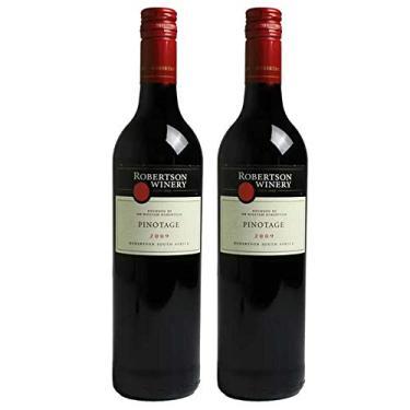 Kit 2 Vinho Tinto Sul-Africano Robertson Pinotage 2018
