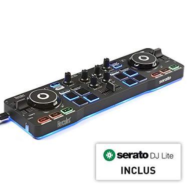 Controladora DJ Hercules DJControl Starlight, Hercules, 4780884, Preto