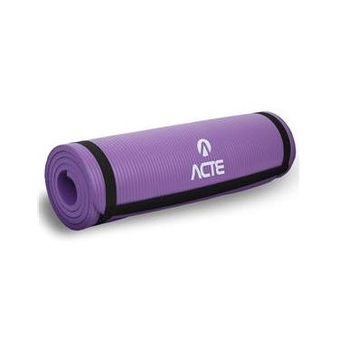 Tapete Para Exercícios Confort 180cm Roxo T54-RX Acte Sports