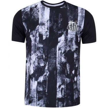 Camiseta do Santos Fold - Masculina Braziline Masculino