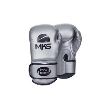 Luva de Boxe MKS Energy II Prata
