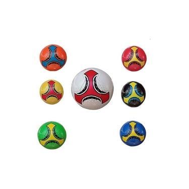 Imagem de Mini Bola De Futebol Coloridas Campo Futsal Society Sky 303