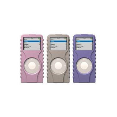 Capas de Silicone TuffWrap Nano 1a Ger. (3 unid. - Cinza/Rosa/Lilás) - XtremeMac