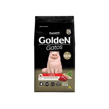 Ração para Gatos Adultos Golden Carne 10,1Kg