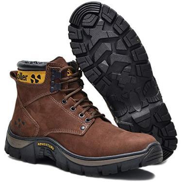 Bota Adventure Coturno Triton Spiller Shoes - Marrom Cor:Marrom;Tamanho:39