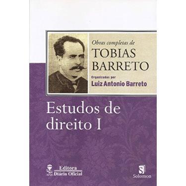 Estudos de Direito I - Tobias Barreto - 9788565958011