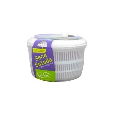 Seca Salada Secador Centrifuga 4.5 Litros Alves Branco