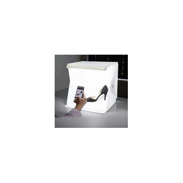 Imagem de Sala De Luz LED Para Fotografia De Estúdio Fotográfico E Iluminação De Tenda De Fundo Mini Caixa Cúbica