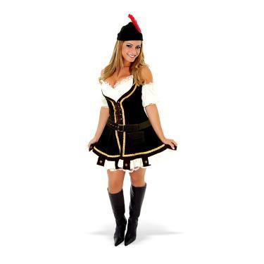 Imagem de Fantasia Robin Hood Feminina Adulto - Heat Girls P
