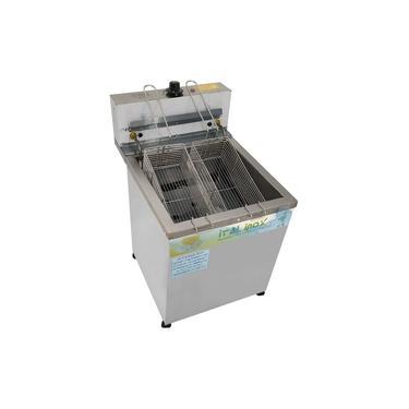Fritador Fritadeira Elétrica 18 Litros Agua e Óleo de Mesa Profissional Empanado Pastel - Ital Inox
