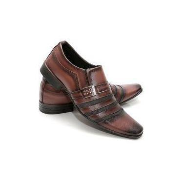 d4819e14a2 Sapato Social Masculino Couro Ecológico