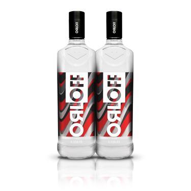 Kit Vodka Orloff 1L - 2 Unidades