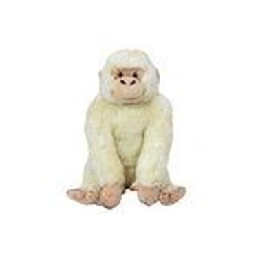Imagem de Gorila Branco De Pelúcia 22 Cm