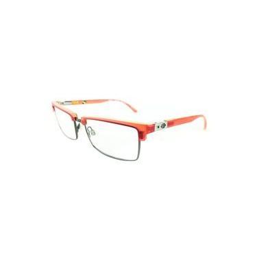 Armação Para Oculos De Grau Mormaii Portal 2 143923350 Vermelho Translucido