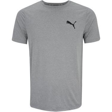 Camiseta Puma Manga Curta Active Small Logo - Masculina Puma Masculino