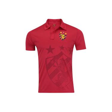 65669ce59b333 Camisa Polo do Sport Recife Shadow - Masculina - VERMELHO Xps Sports