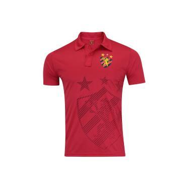 95f42135e4 Camisa Polo do Sport Recife Shadow - Masculina - VERMELHO Xps Sports