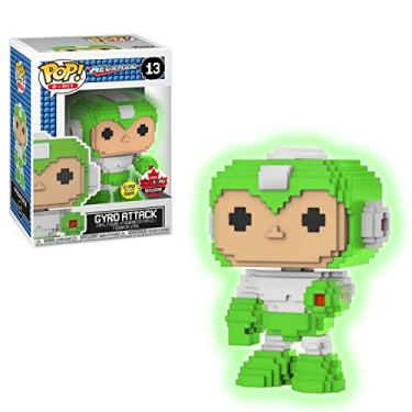 Funko Pop Mega Man 13 Gyro Attack 8-bit Glows in The Dark