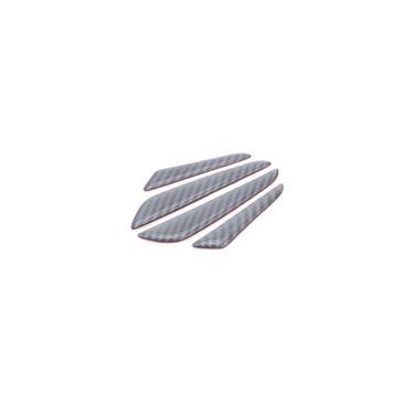 Wrc porta de fibra de carbono anti-colisão tiras de porta do carro anti-riscos de porta anti-colisão tiras de corpo adesivos