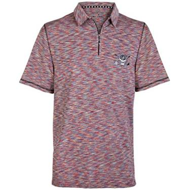 Imagem de Camiseta masculina de golfe Epic Performance, Vermelho, 4X-Large