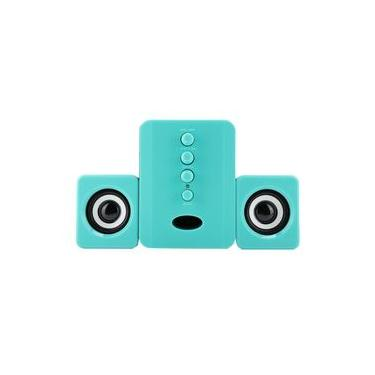 Bluetooth Stereo Speaker, Outdoor Speakers, Bluetooth Speaker USB Powered 5V 2.1 Stereo Bass for PSP/Tablet/Phone/Laptop