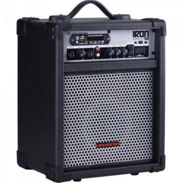 Caixa Multiuso 30W Bluetooth/Usb/Sd/Fm Iron 200 Preta Hayonik Bivolt
