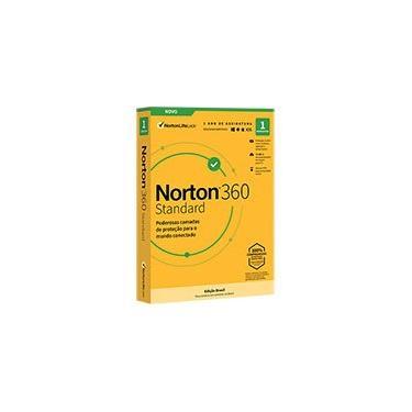 Norton Security 360 Standard 1 dispositivo 1 ano NortonLifeLock CX 1 UN
