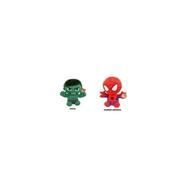 Imagem de Homem Aranha E Hulk Pelúcia Ty Beanie Babies Marvel Dtc 371