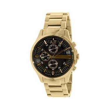 43cd188903c Relógio Unissex Armani Exchange Modelo AX2137 - Foheado a Ouro   A prova d   água