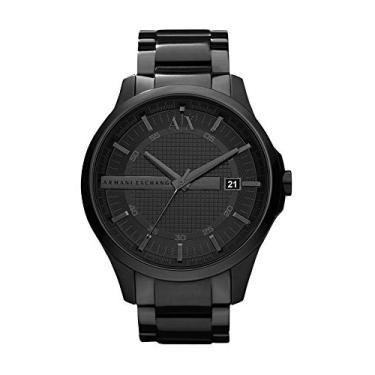 281f5000003 Relógio Masculino Armani Exchange Analógico Ax2104 4Pn Preto