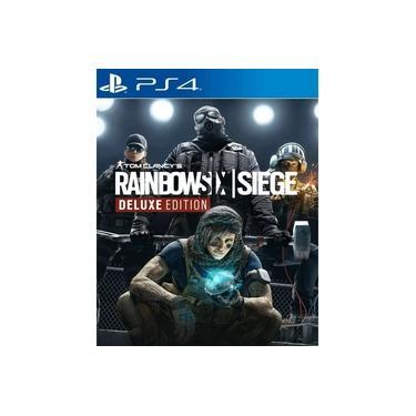 Tom Clancys Rainbow Six Siege Deluxe Edition Ps4 Midia Fisica Original Imperdivel!!