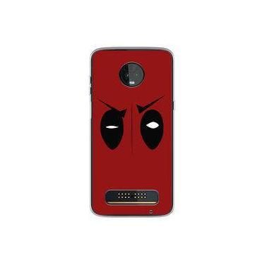 Capa para Moto Z3 Play - Deadpool 5
