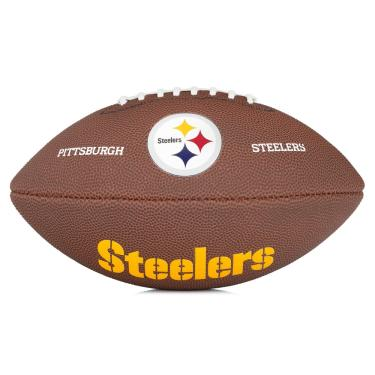 Bola de Futebol Americano Wilson NFL Team Logo JR - Pittsburgh Steelers 69c90645dd11a