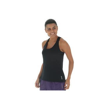 Camiseta Regata Campeão Oxer Jogging New - Feminina - PRETO Oxer a51280f492b