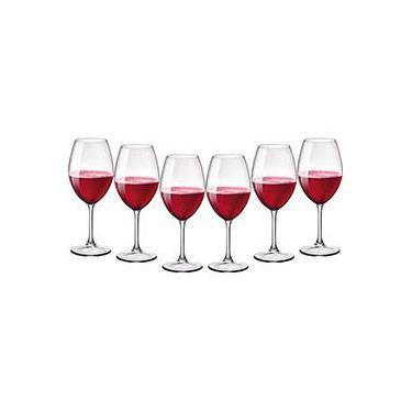 Jogo de Taças para Vinho Riserva 6 Peças - Bormioli