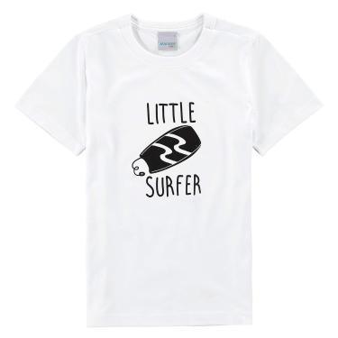 Camiseta Estampada Malha, Malwee, Criança-Unissex, Branco, 3