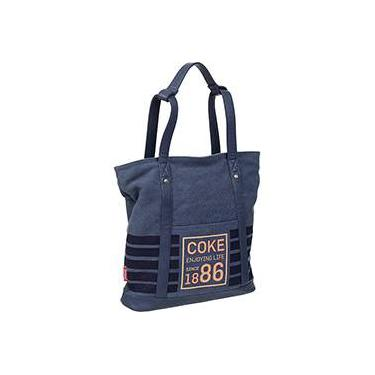 Tote Bag Coca Cola Navy Azul - PCF Global