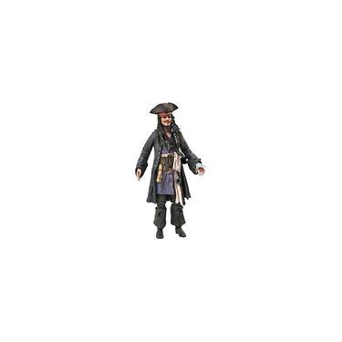Imagem de Brinquedos seleção de diamante Piratas do Caribe: Homens mortos não contam histórias: boneco de Jack Sparrow