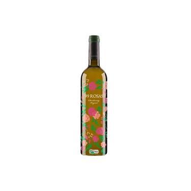 Vinho Espanhol Branco 99 Rosas Chardonnay Ed. Especial 750ml - Mega Oferta