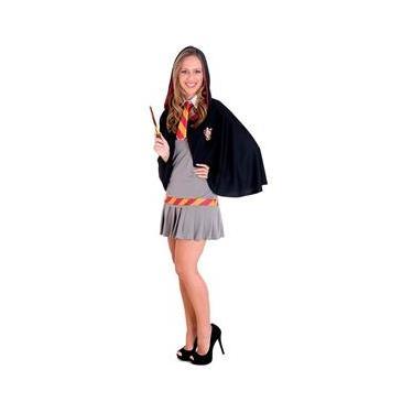 Fantasia Hermione Teen (Harry Potter) Completa com Capuz