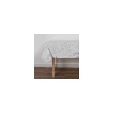 Imagem de Toalha De Mesa Retangular Aquarello 160 X 240 Cm - Percal 180 Fios - 1 Peça - Casa & Conforto