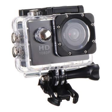 Imagem de 1080P Sports Camera Lens Grande Angular 140 Graus Waterproof Outdoor Aerial Cam Recorder Banggood