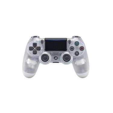 Console sem fio Bluetooth PS4 Sony dualshock4,Branco transparente