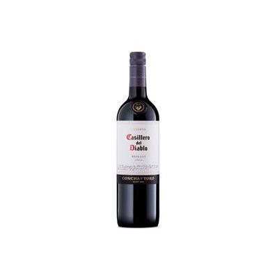 Vinho Tinto Casillero Del Diablo Merlot 750Ml