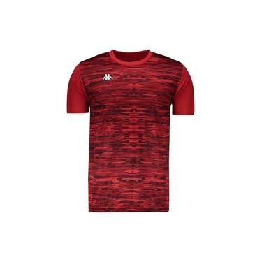Camiseta Kappa Jenner Vermelha